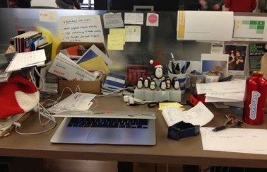 Unorganised Work Space