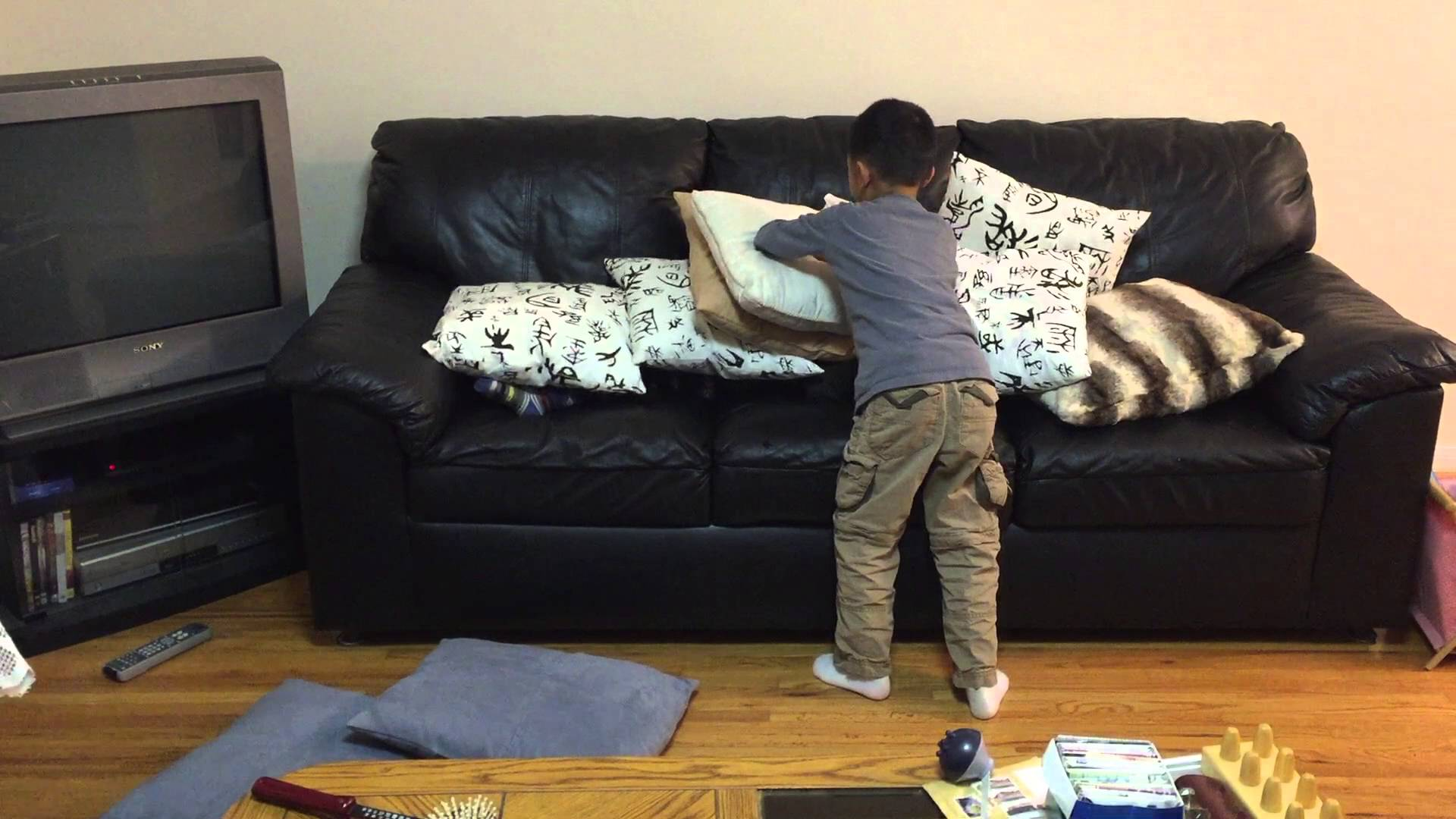 Kid on Sofa