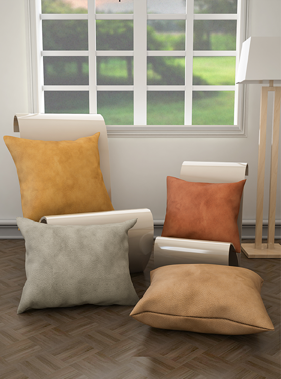 Nubuck Cushion Covers