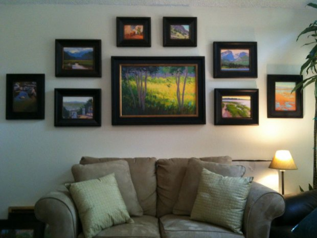 Paintings in Room