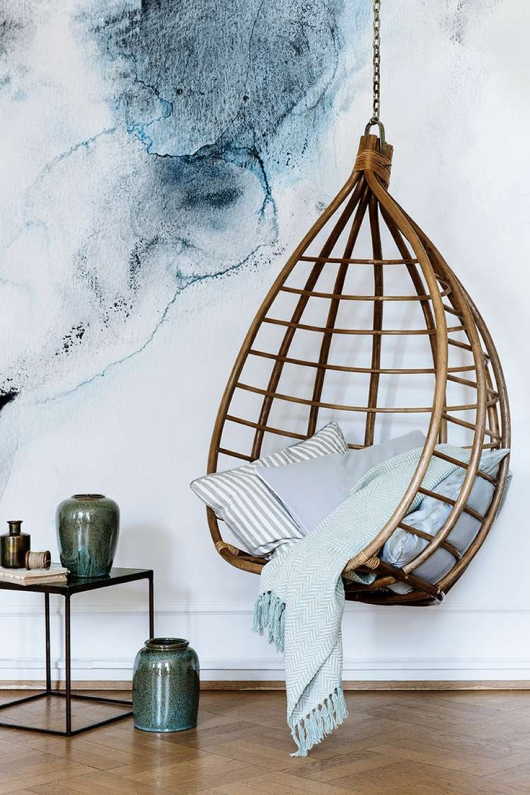 interior-design-trends-rattan-hanging-chair