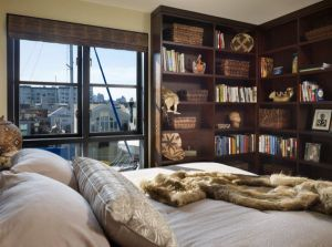 L-shaped-bookshelves-make-an-effective-addition-to-the-modern-bedroom