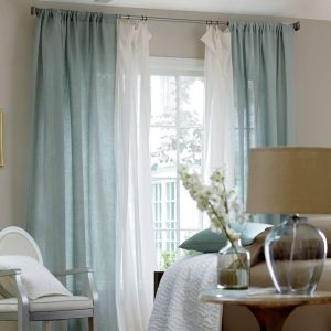 Layered Curtains for Bedrooms 1