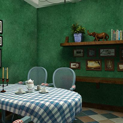 Southeast-Asia-Style-Non-woven-Wallpaper-Roll-Dark-Green-papel-de-parede-wall-paper-roll-for.jpg